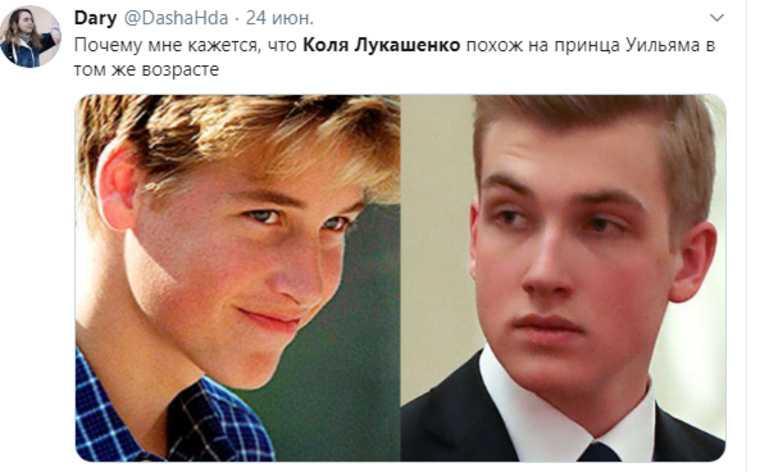 Сын Лукашенко свел с ума девушек из России. «Коля реально краш»
