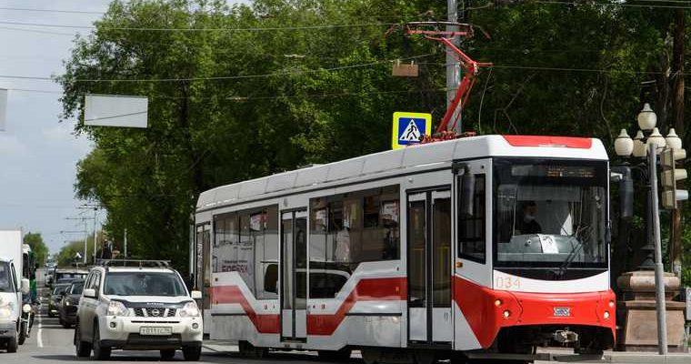 трамвай Академический
