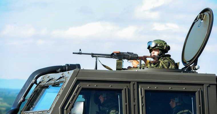 белорусские войска на границе с Россией