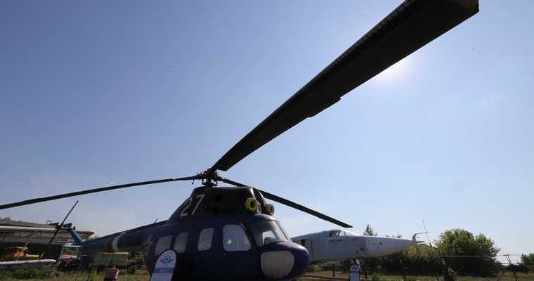 Боевые вертолеты в Курганской области