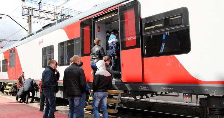 Ласточка электропоезд Пермь Краснокамск