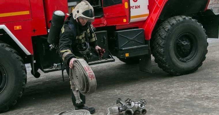 Пожар нефтепровод РН-няганьнефтегаз