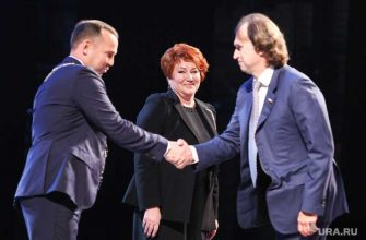 Елена Перминова сенатор