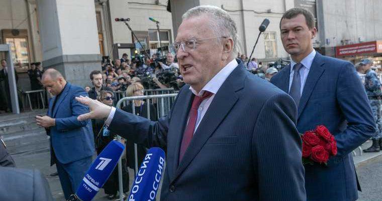 Жириновский виновные ССР суд
