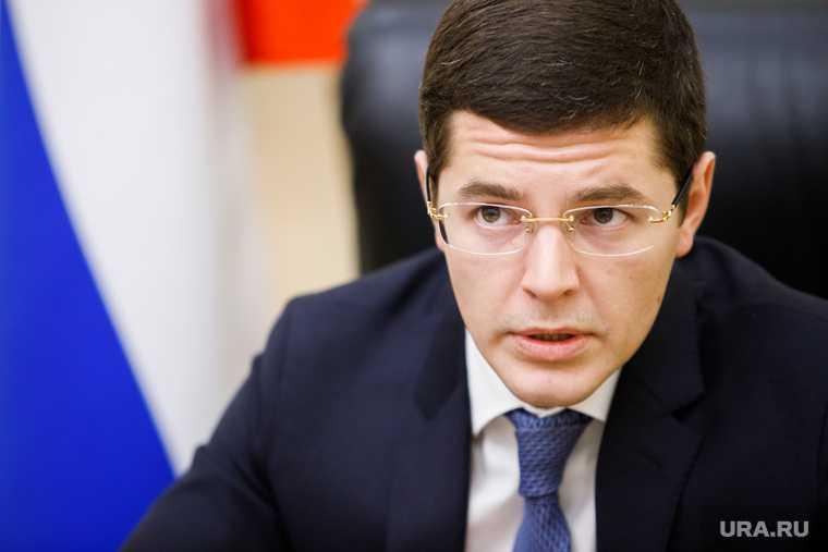 губернатор ЯНАО Дмитрий Артюхов визит в Газ Сале 10 сентября