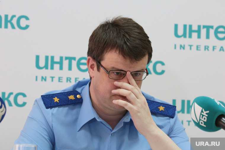 Прокурор Пермского края Андрей Юмшанов на пресс-конференции