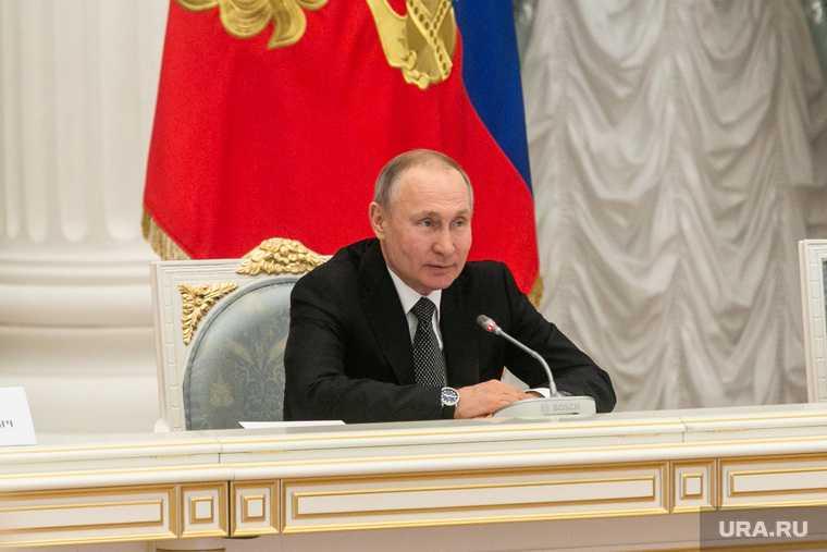 Путин внес законопроект о формировании правительства