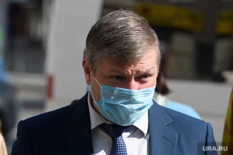 Алексей Бубнов мэрия Екатеринбурга отставка