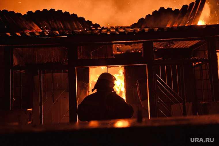 Тавда пожар гибель пять человек