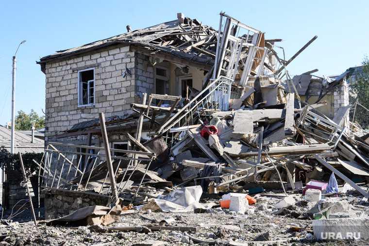 сирийские бойцы в Карабахе