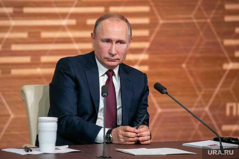 Bloomberg включил Путина в отдельный список главных людей 2020 года