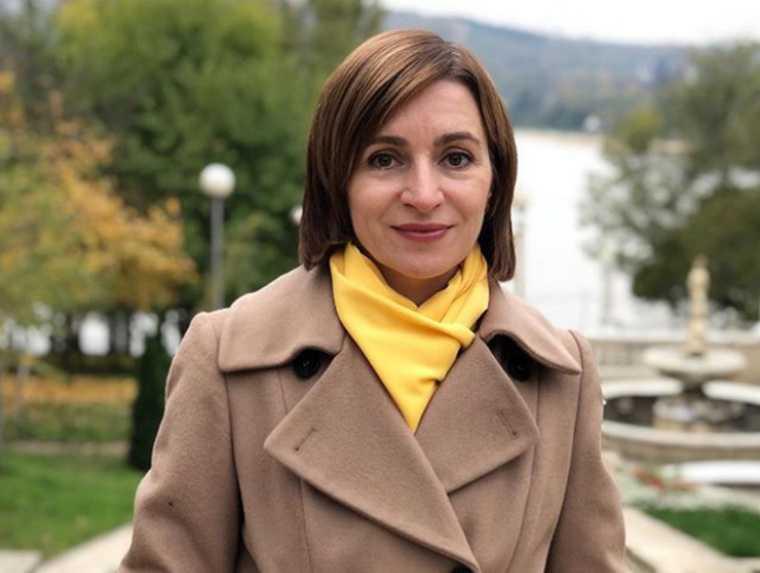 Майя Санду Игорь Додон выборы Молдавия