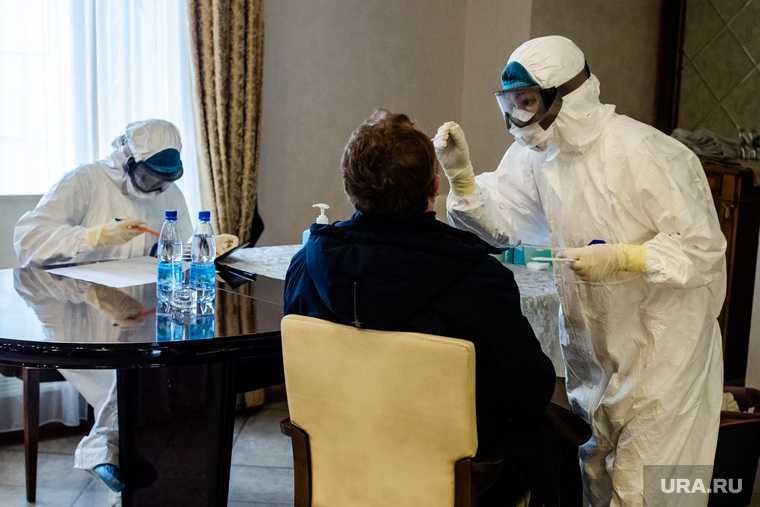 тест коронавирус результаты