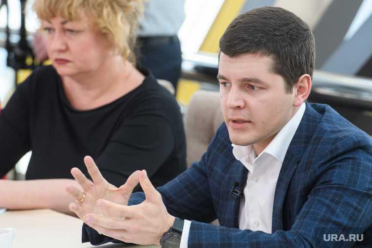 губернатор Артюхов встреча с главами муниципалитетов ЯНАО