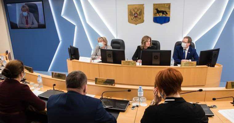 Шуклин Губернатор Югры Наталья Комарова ХМАО