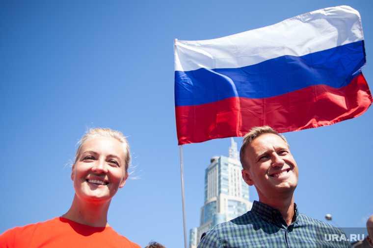 Юлия Навальная Светлана Тихановская митинги протесты Россия Белоруссия Алексей Навальный