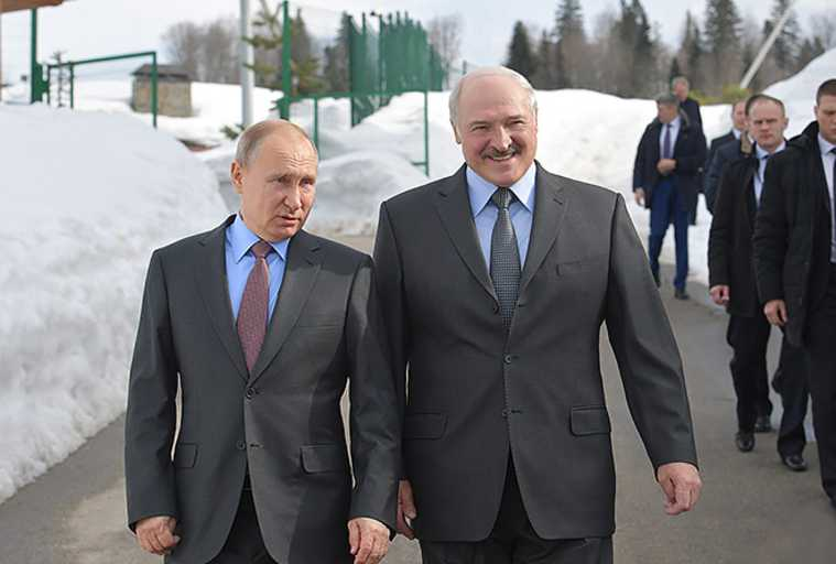 Союзное государство Россия Белоруссия Александр Лукашенко Владимир Путин Станислав Шушкевич
