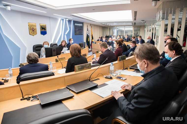 депутаты заседание думы претенденты Валгушкин Сыч ХМАО