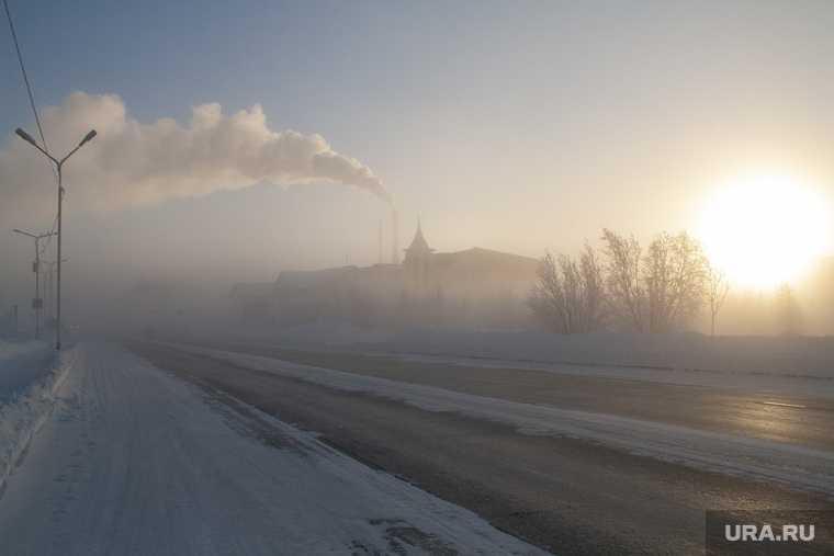 На Пермский край надвигаются морозы