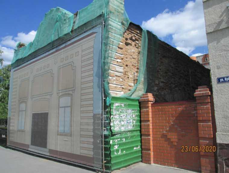 Аварийное здание в Кургане признали памятником архитектуры. Фото