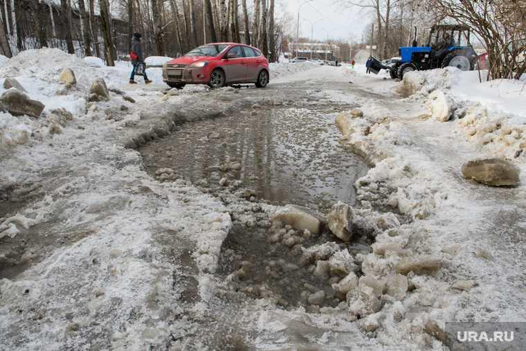 екатеринбург водопровод вода прорыв авария коммунальная
