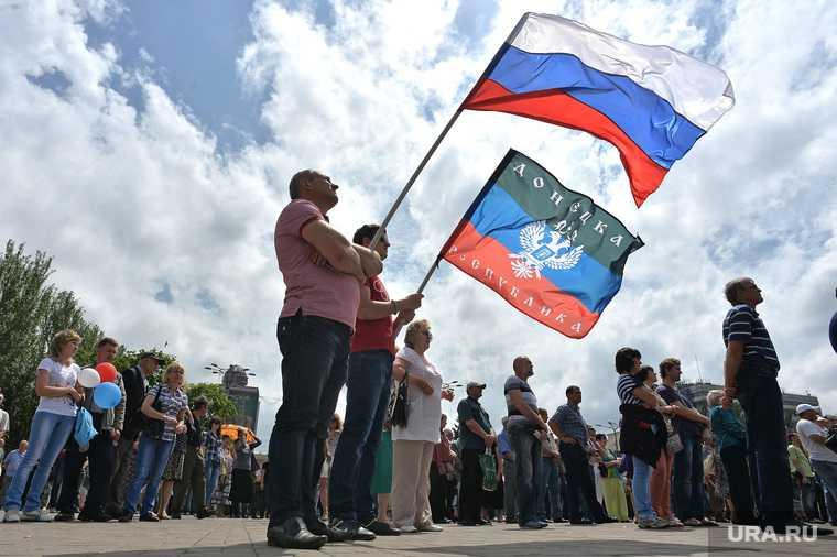 ДНР глава Денис Пушилин Украина поможет война Донбасс