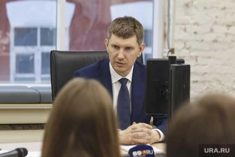 зам Решетникова отставка