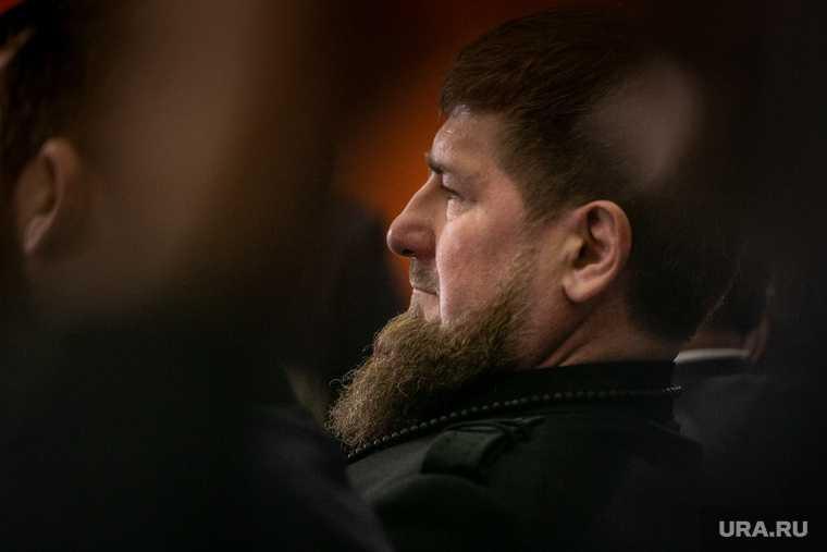 Кадыров показал тренировку с бойцом UFC Чимаевым