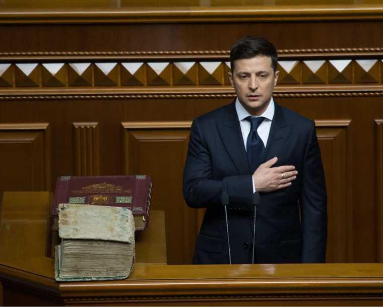 глава ЛНР Леонид Пасечник Владимир Зеленский Путин встреча