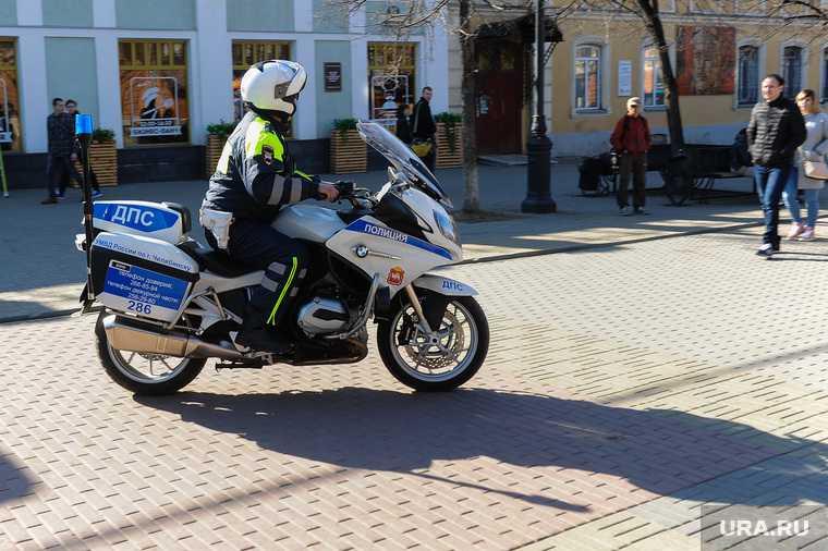 Челябинская область МВД полиция мотоцикл мотовзвод