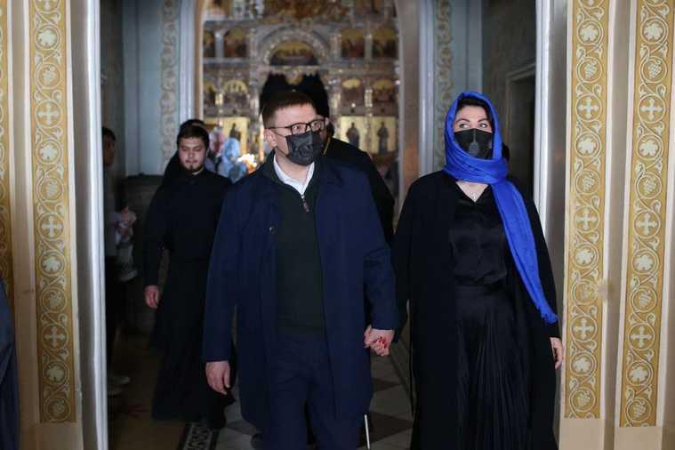 Челябинский губернатор с женой встретились с новым митрополитом. Фото
