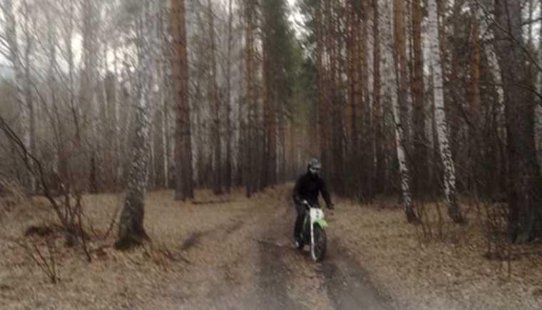 В Челябинской области разыскивают поджигателя. Фото