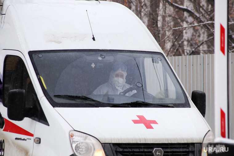 пьяный водитель скорой помощи в Челябинской области