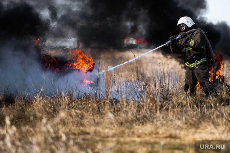 пожары тюменская область