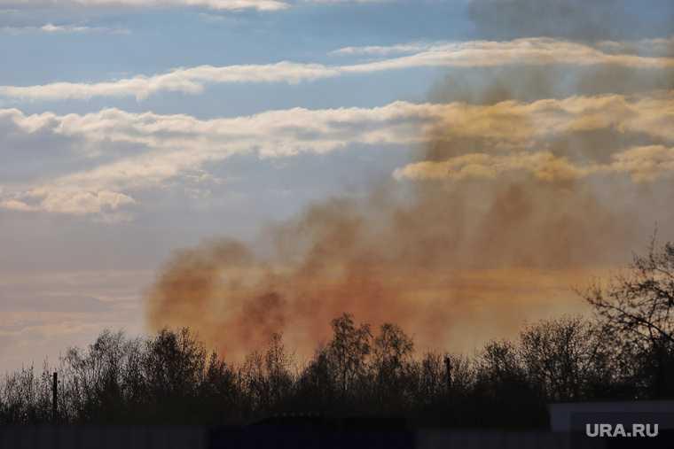 перекрытие трасса Тюмень Екатеринбург пожары