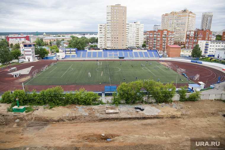 Стадион Динамо. Пермь