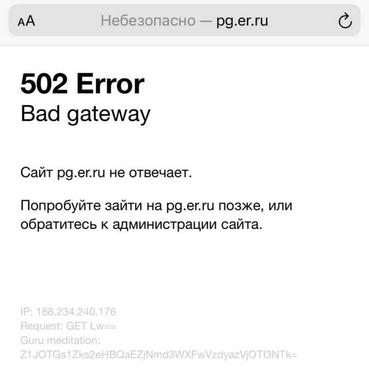 Сайт ЕР упал после старта праймериз