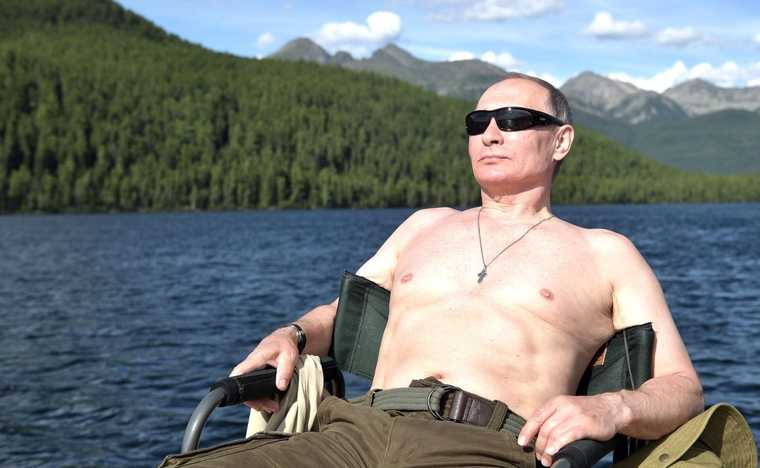 Путин отпуск лето путешествие