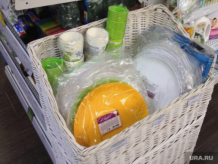 посуда из пластика запрет