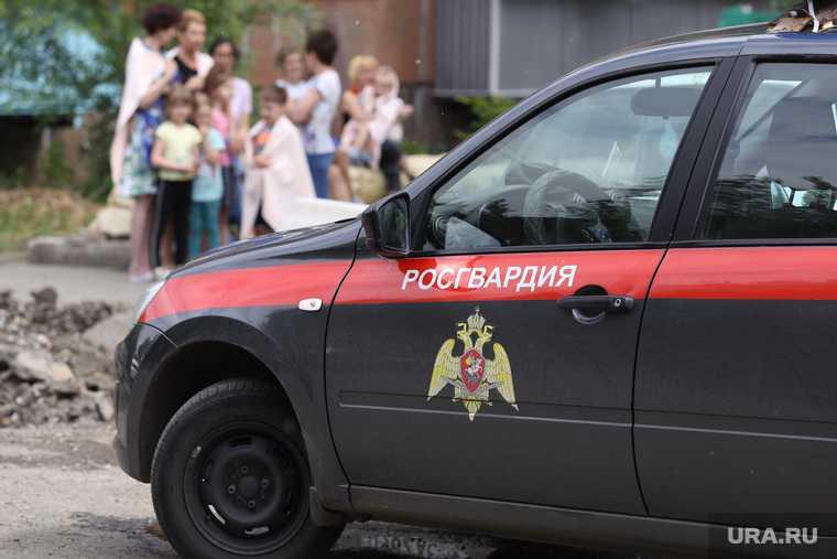 Эвакуация детей из детского сада. Курган