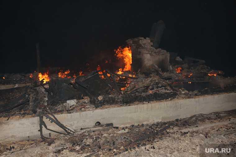 сгорели дома тюмень