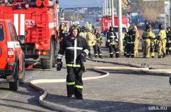 тюменские пожарные