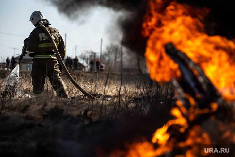 Екатеринбург пожар дом